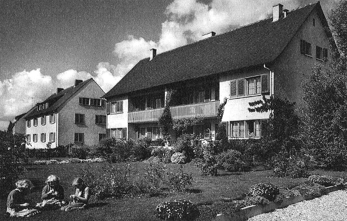 Familienheim Öhningen 1953